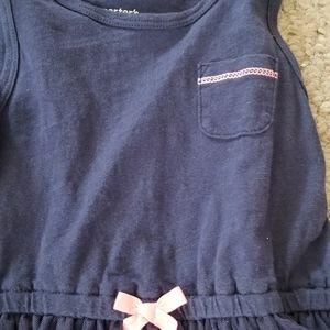 Carter's Kids Dresses - Girls T Shirt Dress With Tulle Skirt